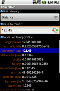 Convert Units - screenshot thumbnail