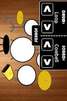 Screenshot of Touch Drummer Demo