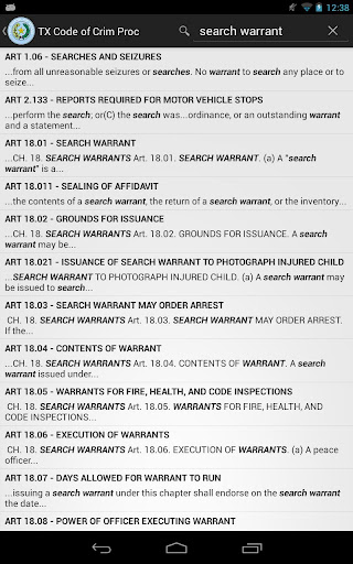 2014 TX Code of Criminal Proc