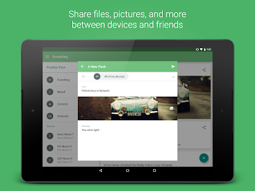 Pushbullet Screenshot 5