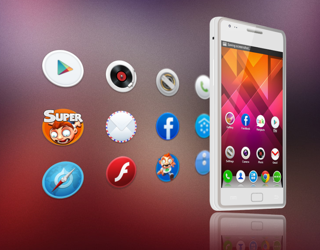 Rounded - Launcher Theme - screenshot
