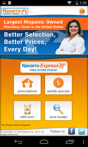 Navarro Discount Pharmacy