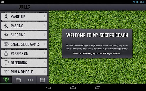 mySoccerCoach Lite- screenshot thumbnail