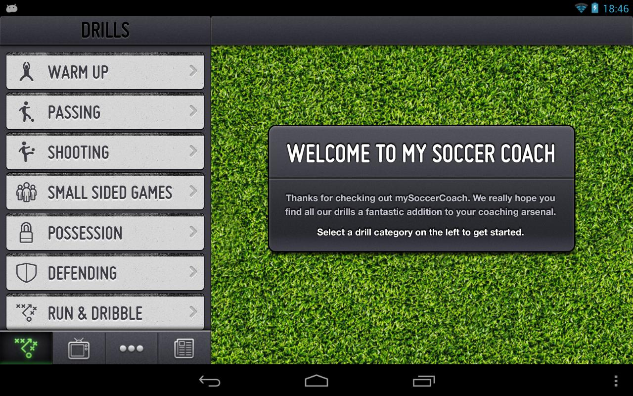 mySoccerCoach Lite - screenshot