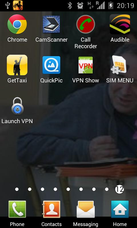 Easy VPN Settings Launcher - screenshot