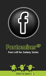 Fontomizer SP(Font for Galaxy) - screenshot thumbnail