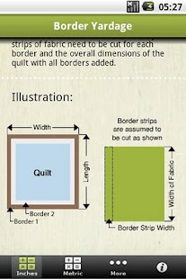 Quilting Calculators - screenshot thumbnail