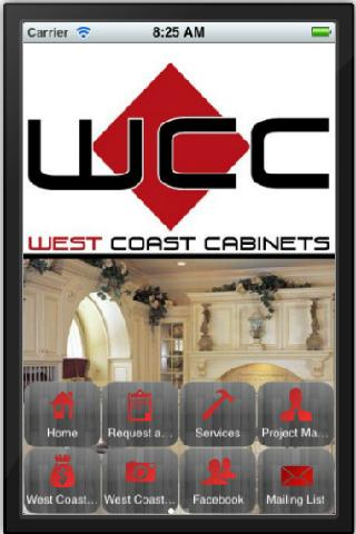 West Coast Cabinets- screenshot