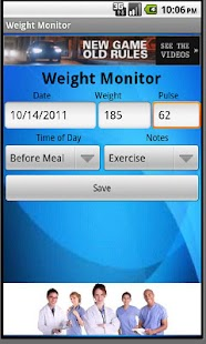 Weight Monitor- screenshot thumbnail