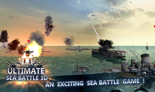 Sea Battle :Warships (3D) - screenshot thumbnail