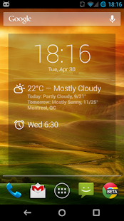 BetterWeather for DashClock - screenshot thumbnail