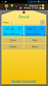 Double Discount Calculator screenshot 4