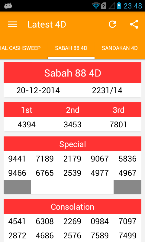 4dCombo: Live 4D Result- screenshot