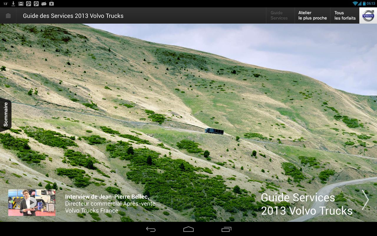 Guide Services Volvo Trucks - screenshot