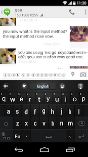 GO Keyboard Fantasy Fonts,Text - screenshot thumbnail