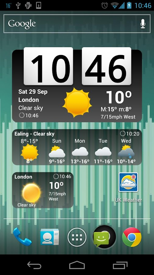 UK Weather Forecast - screenshot