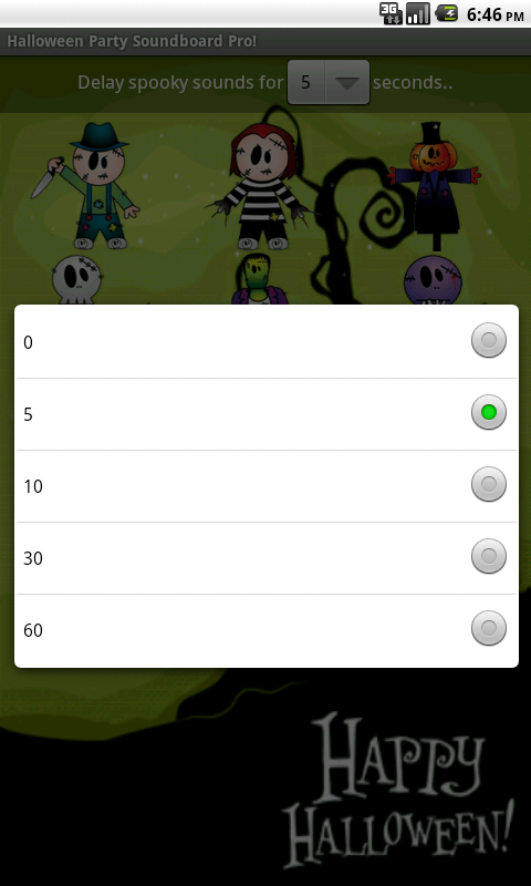 Halloween Party Soundboard Pro - screenshot