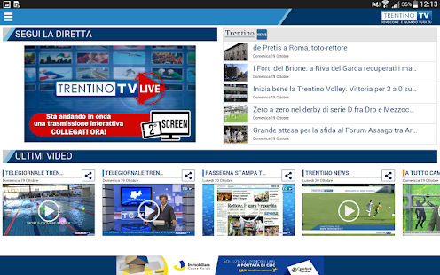 Trentino TV- screenshot thumbnail