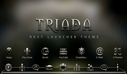 Next Launcher Theme Triada