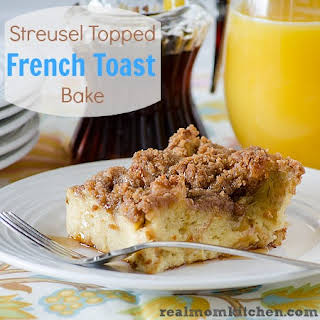 Streusel Topped French Toast Bake.