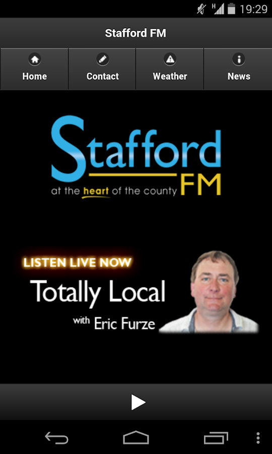 Stafford FM - screenshot
