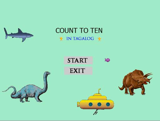 1 to 10 tagalog