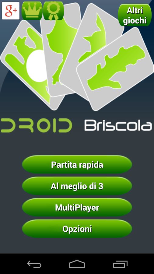 Briscola HD- screenshot