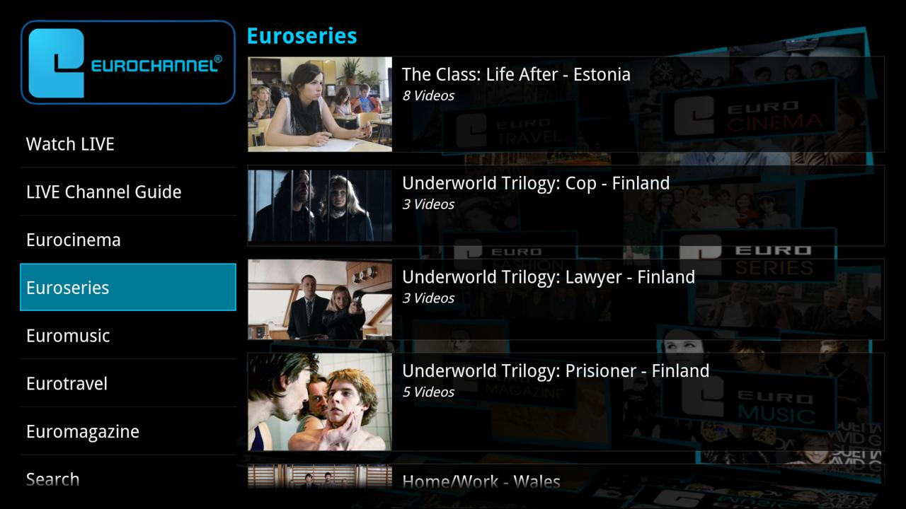 Eurochannel European Movies TV - screenshot