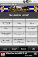 Screenshot of Talk Swedish (Free)