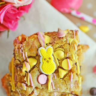 Colorful Easter Blondie Brownies & An Easy, and Delicious Breakfast Solution