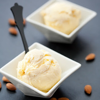 Marzipan Swirl Ice Cream
