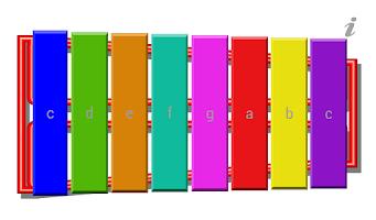 Screenshot of Glockenspiel