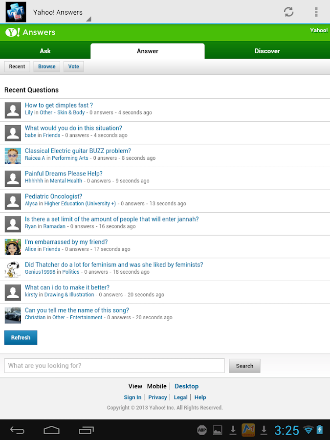 Social Network Portal - screenshot