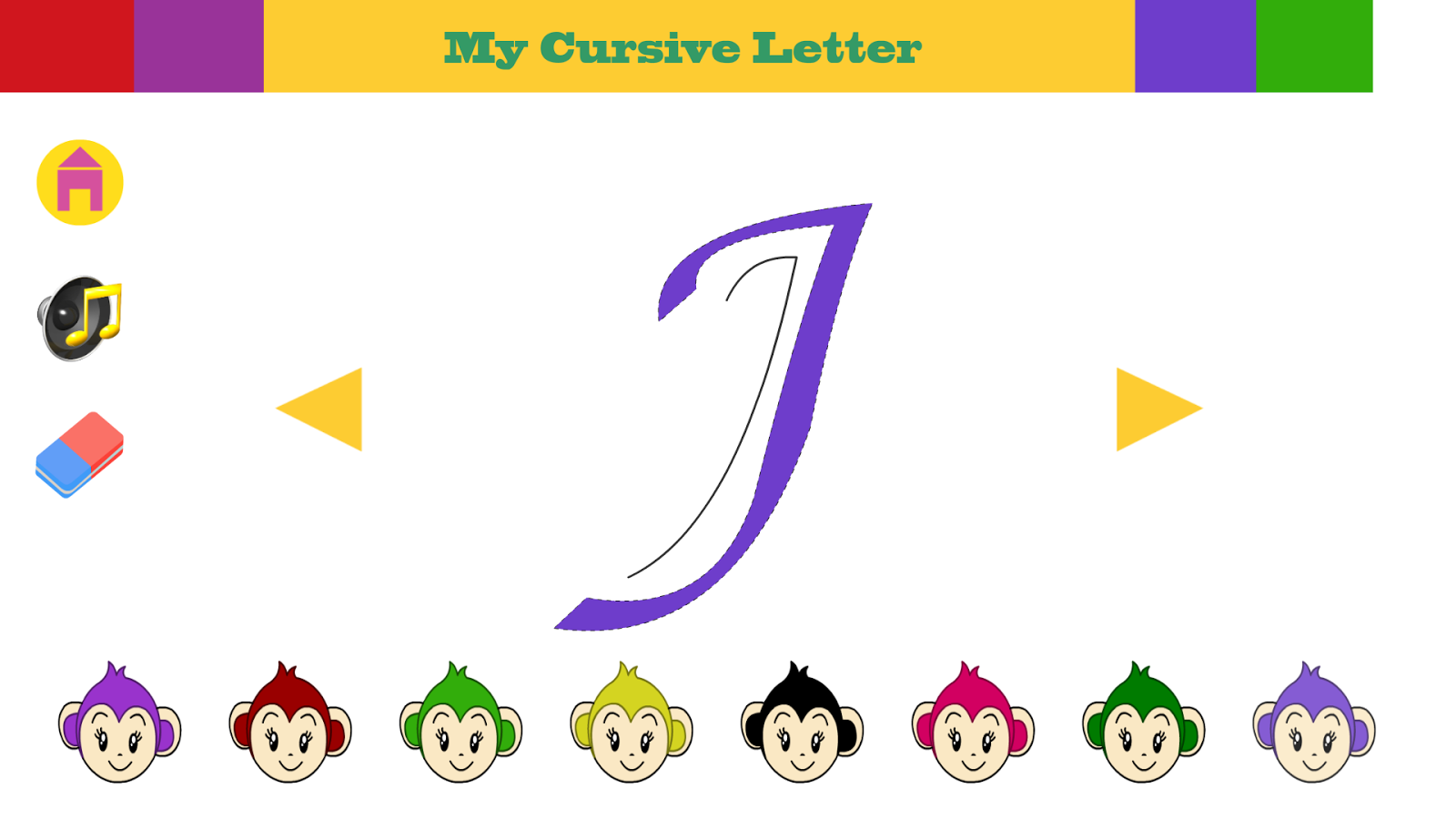 Cursive alphabets android apps on google play