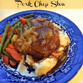 Pork Chop Stew.