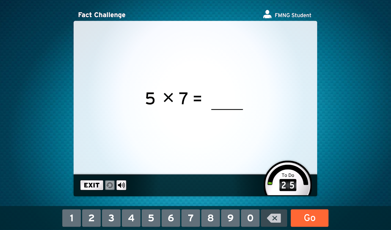 FASTT Math NG for Schools- screenshot