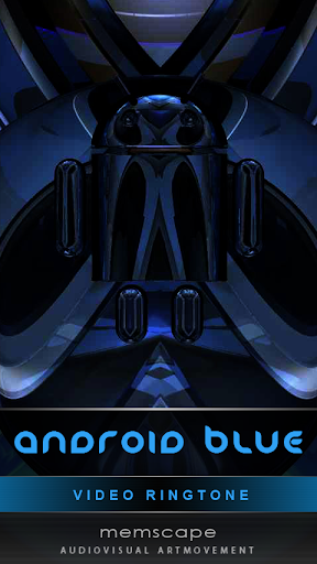 Video Ringtone ANDROID BLUE