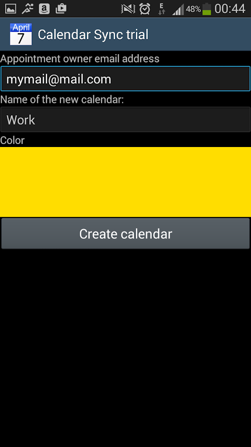 CalendarSync - CalDAV and more- screenshot