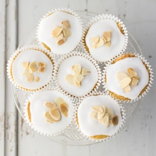 Bakewell Cupcakes.