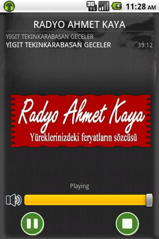 Radyo Ahmet Kaya- screenshot