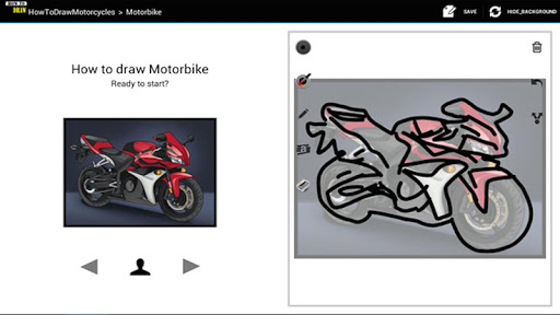 HowToDraw Motorcycles
