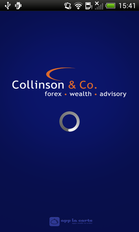 CollinsonFX - screenshot