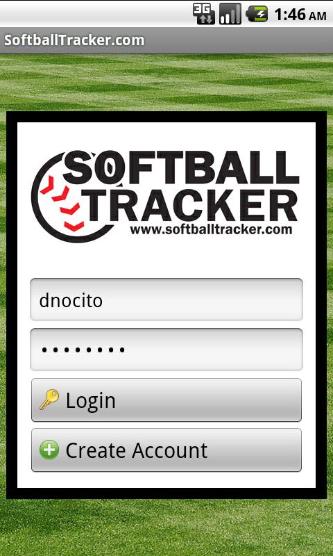 SoftballTracker.com Mobile - screenshot
