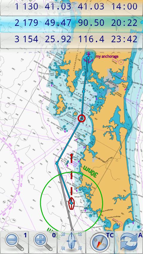Marine Navigator Screenshot 1
