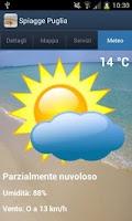 Screenshot of Spiagge Italia Puglia