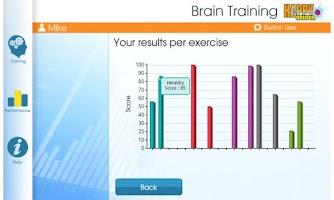 Screenshot of My HAPPYneuron Workout