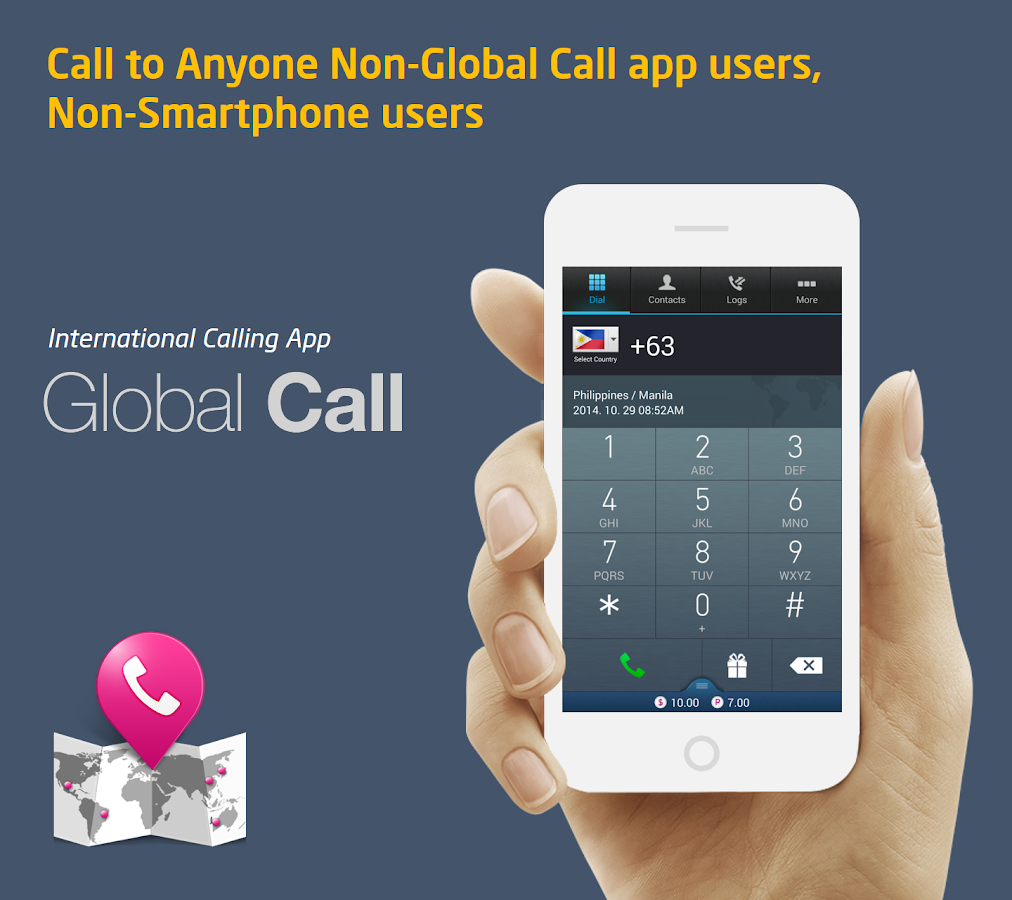 Global Call : Free $0.5, Topup - screenshot