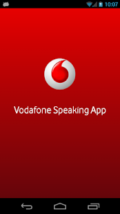 Vodafone Speaking App - screenshot thumbnail