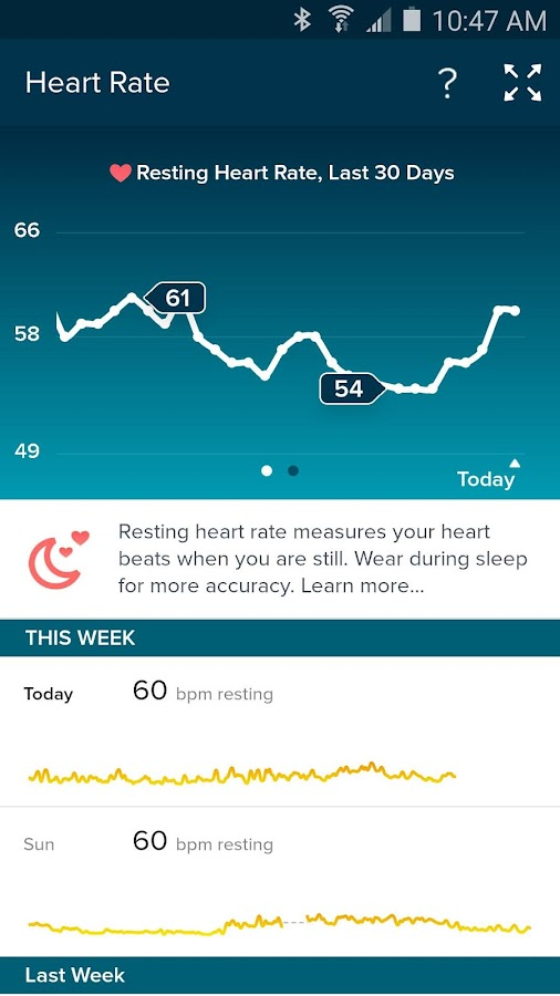 Fitbit - screenshot