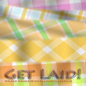 Get Laid Tablecloth Wallpaper logo